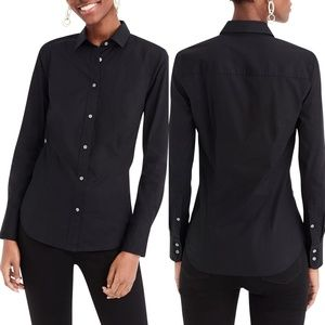 J. Crew 365 Black Slim Fit Button Down Shirt